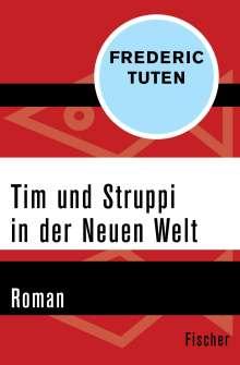 Frederic Tuten: Tim und Struppi in der Neuen Welt, Buch