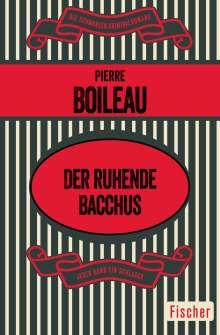 Pierre Boileau: Der ruhende Bacchus, Buch