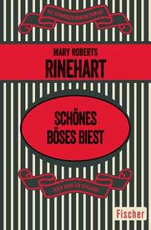Mary Roberts Rinehart: Schönes böses Biest, Buch
