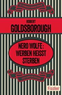 Robert Goldsborough: Nero Wolfe: Werben heißt Sterben, Buch