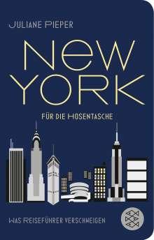 Juliane Pieper: New York für die Hosentasche, Buch