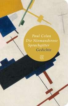Paul Celan: Die Niemandsrose / Sprachgitter, Buch
