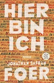 Jonathan Safran Foer: Hier bin ich, Buch