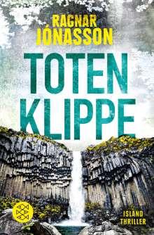 Ragnar Jónasson: Totenklippe, Buch