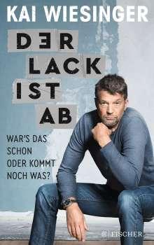 Kai Wiesinger: Der Lack ist ab, Buch