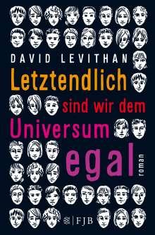 David Levithan: Letztendlich sind wir dem Universum egal, Buch