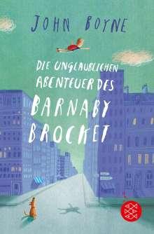 John Boyne: Die unglaublichen Abenteuer des Barnaby Brocket, Buch