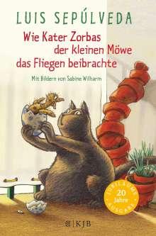 Luis Sepúlveda: Wie Kater Zorbas der kleinen Möwe das Fliegen beibrachte, Buch