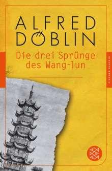 Alfred Döblin: Die drei Sprünge des Wang-lun, Buch