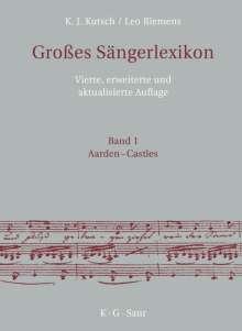 Karl-Josef Kutsch: Großes Sängerlexikon in 7 Bänden (Kutsch/Riemens), Buch