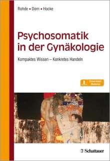 Anke Rohde: Psychosomatik in der Gynäkologie, Buch