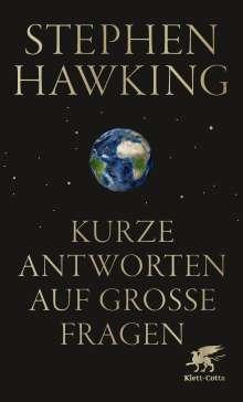 Stephen Hawking: Kurze Antworten auf große Fragen, Buch