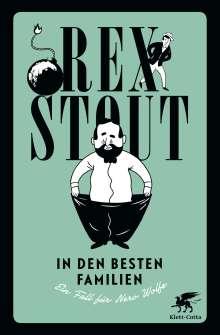 Rex Stout: In den besten Familien, Buch