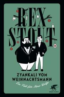 Rex Stout: Zyankali vom Weihnachtsmann, Buch