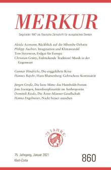 MERKUR Gegründet 1947 als Deutsche Zeitschrift für europäisches Denken - 2021-01, Buch
