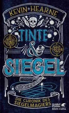 Kevin Hearne: Tinte & Siegel, Buch