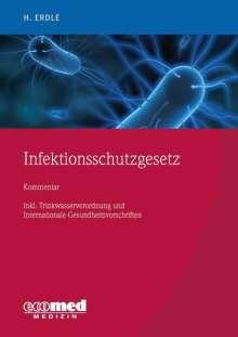 Helmut Erdle: Infektionsschutzgesetz, 1 Buch und 1 Diverse