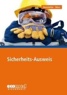 Franz Armstorfer: Sicherheits-Ausweis, Buch