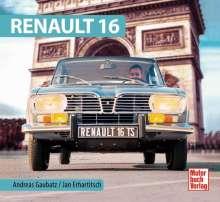 Andreas Gaubatz: Renault 16, Buch