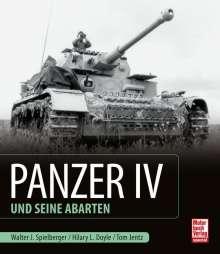 Walter J. Spielberger: Panzer IV und seine Abarten, Buch