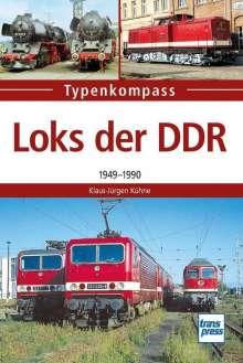 Klaus-Jürgen Kühne: DDR-Loks, Buch