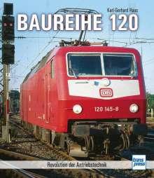 Karl-Gerhard Haas: Baureihe 120, Buch