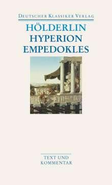 Friedrich Hölderlin: Hyperion / Empedokles, Buch