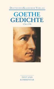 Johann Wolfgang von Goethe: Gedichte 1756-1799, Buch