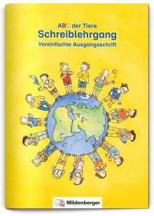 Klaus Kuhn: ABC der Tiere · Schreiblehrgang Vereinfachte Ausgangsschrift, Buch
