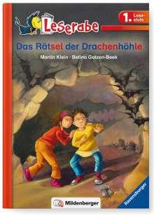 Martin Klein: Leserabe 33, Lesestufe 1 - Das Rätsel der Drachenhöhle, Buch