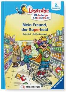 Anja Kiel: Leserabe - Mein Freund, der Superheld, Buch