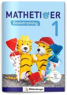 Thomas Laubis: Mathetiger Basistraining 1, Buch