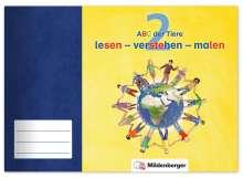 Tina Kresse: ABC der Tiere 2 · lesen - verstehen - malen, Buch