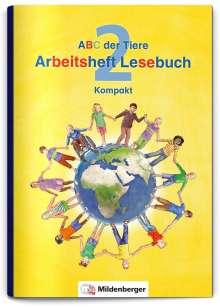 Klaus Kuhn: ABC der Tiere 2 - Arbeitsheft Lesebuch Kompakt, Buch