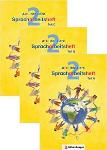 Rosmarie Handt: ABC der Tiere 2 - Spracharbeitsheft · Neubearbeitung, Buch