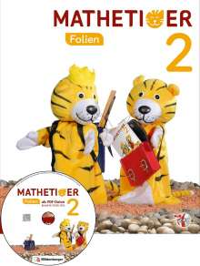 Thomas Laubis: Mathetiger 2 - Transparentfolien, Neubearbeitung (mit CD-ROM), Buch