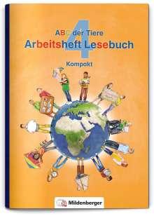 Stefanie Drecktrah: ABC der Tiere 4 - Arbeitsheft Lesebuch Kompakt, Buch