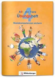 Kerstin Mrowka-Nienstedt: ABC der Tiere 4 - Übungsheft, Buch