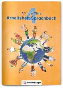 Klaus Kuhn: ABC der Tiere 4 - Arbeitsheft Sprachbuch · Neubearbeitung, Buch
