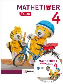 Matthias Heidenreich: Mathetiger 4 - Transparentfolien · Neubearbeitung, Diverse