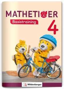 Thomas Laubis: Mathetiger Basistraining 4, Buch