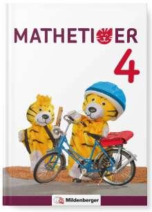 Thomas Laubis: Mathetiger 4 - Buchausgabe · Neubearbeitung, Buch
