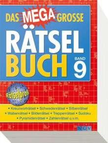 Das megagroße Rätselbuch Band 9, Buch