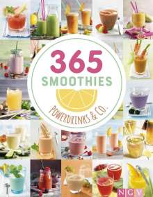 365 Smoothies, Powerdrinks & Co., Buch