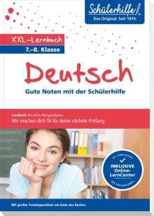 XXL-Lernbuch Deutsch 7./8. Klasse, Buch