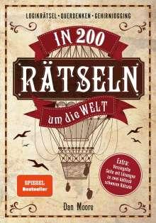 Dan Moore: In 200 Rätseln um die Welt, Buch