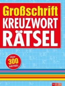 Großschrift Kreuzworträtsel, Buch
