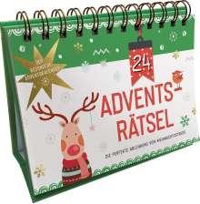 Philip Kiefer: 24 Adventsrätsel. Der besondere Adventskalender, Buch