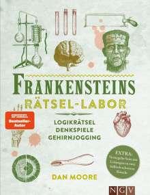 Dan Moore: Frankensteins Rätsel-Labor - Logikrätsel, Denkspiele, Gehirnjogging, Buch