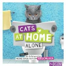 Klaus Bunte: Cats at home alone - Das Geschenkbuch für Katzenliebhaber, Buch
